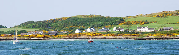 Gigha seen from the ferry