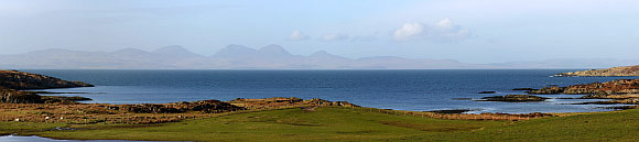 View from the west coast of Gigha