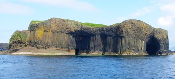 Staffa Island and Fingals Cave
