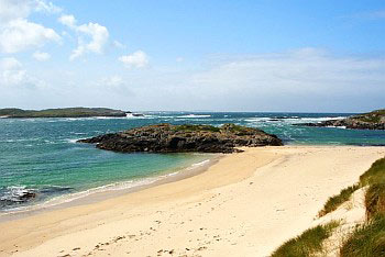 A Beach on Coll's South West Coast