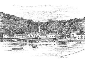 Tobermory Distillery late 1800s