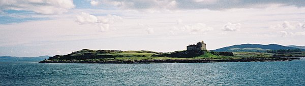 Duart Castle from the Mull Ferry