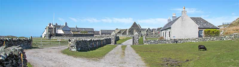 Entrance to Oronsay Priory