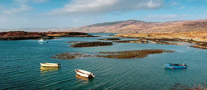Sound of Ulva from Mull